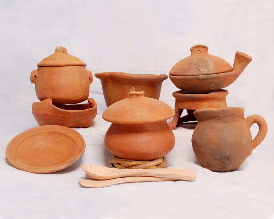 Bags, Pottery, and Treasures