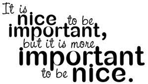 nice important