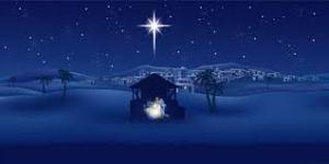 nativity blue