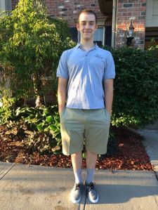 Christian First Day Senior Year